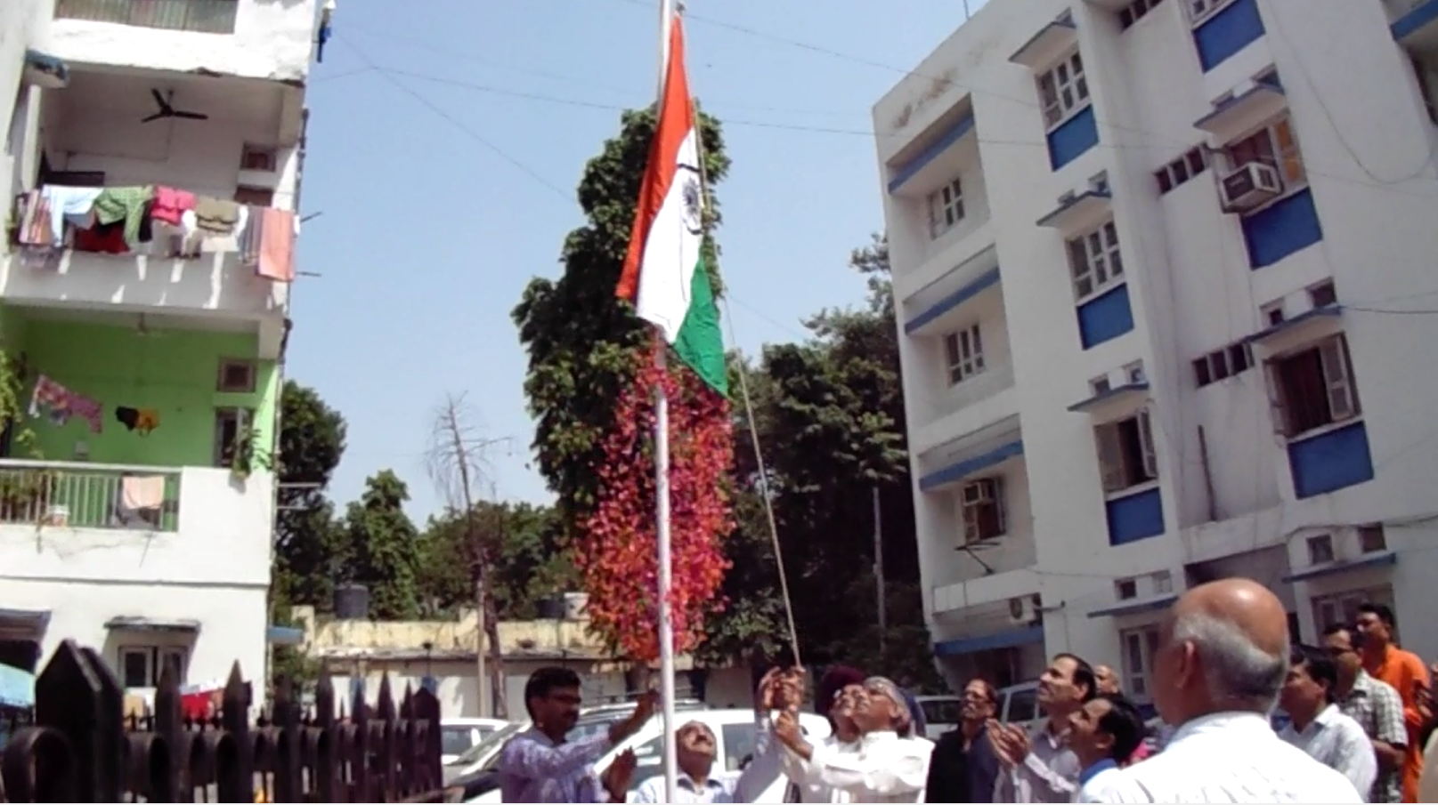 Independence Day Celebrations at Kilokari